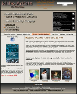 Idaho Artists on The Web